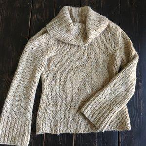 Express Handknit Turtleneck Sweater